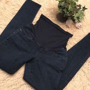 Like new-Indigo Blue-Maternity Jeans